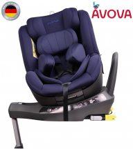 Avova Sperber-Fix I-Size 360° biztonsági gyerekülés 40-105 cm - Atlantic blue