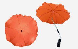 Univerzális napernyő babakocsihoz - Narancs