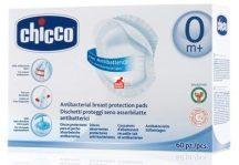 Chicco antibakteriális, eldobható melltartóbetét - 60db