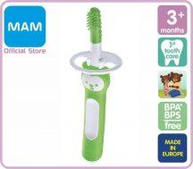 MAM Massaging Brush masszázsfogkefe 3+ zöld