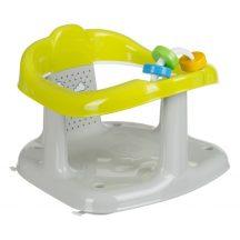 Maltex fürdető babaülőke kádba -- Panda szürke/sárga