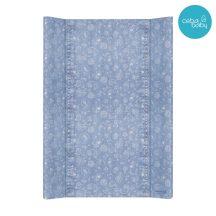 Merev pelenkázó lap 50*70 cm - Denim Style Boho blue
