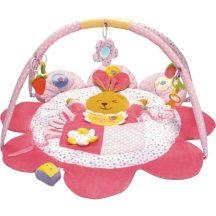 Játszószőnyeg - rózsaszín nyuszika