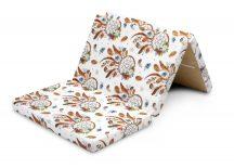 Összehajtható matrac utazóágyhoz 60x120cm - álomfogó