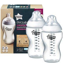 Tommee Tippee Closer To Nature 2*340ml cumisüveg - 3+