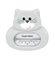 Canpol fürdővíz hőmérő - szürke cica