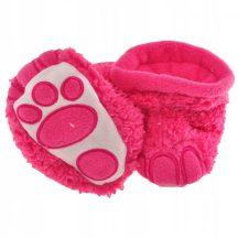 Yo! Bébicipő - Pink tappancsos 6- 12 hó