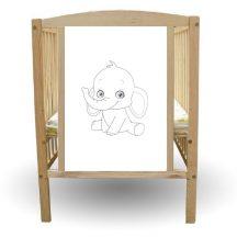 Bajka 60*120 cm kiságy -  Dumbo