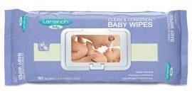 Lansinoh baba kondícionáló törlőkendő 80 db