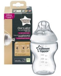 Tommee Tippee Closer To Nature cumisüveg 260ml 0+