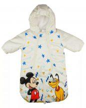 Disney Mickey és Plútó, vízlepergetős, bélelt bundazsák 68-74