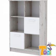 Bee – ajtós polcos szekrény (140 cm magas)