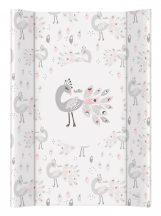 Merev pelenkázó lap 50*70 cm - Lolly Polly Peacock