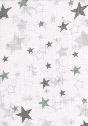 1db-os mintás pelenka - szürke csillagok