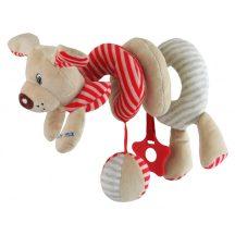 Baby Mix  spirál játek - piros kutya