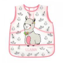BabyOno tépőzáras,fólia előke 12+ Lama