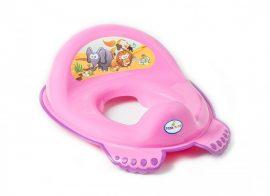 Tega Baby WC szűkítő - rózsaszín szafari