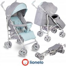 Lionelo Irma sportbabakocsi - grey/mint