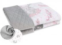 Kétoldalas babapléd - Lulu rózsaszín