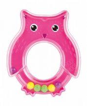 Canpol csörgő pink Baglyos