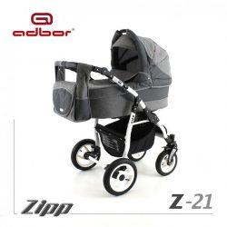 Adbor Zipp 3:1 multifunkciós babakocsi - 21