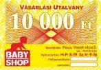 Ajándékutalvány 10000 Ft