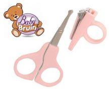 Baby Bruin körömápoló készlet - rózsaszín