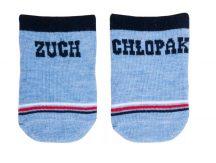 Yo! Baby pamut zokni 3hó+ kék
