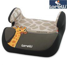 Lorelli Topo Comfort autós ülésmagasító 15-36kg - Giraffe light-dark beige