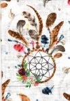 1db-os színes,mintás textil pelenka - álomfogó