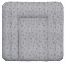 Puha pelenkázó lap 75*72 cm - Denim Style Stars grey