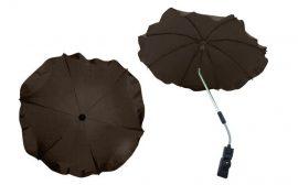 Univerzális napernyő babakocsihoz - Barna
