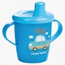 Canpol babies Non-spill cup TOYS 250 ml  csöpögésmentes itatópohár AUTÓ